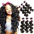 Peruvian Virgin Hair Body Wave 3 Bundles Peruvian Body Wave Meches Bresilienne Lots 100% Human Hair Virgin Peruvian Hair Bundles