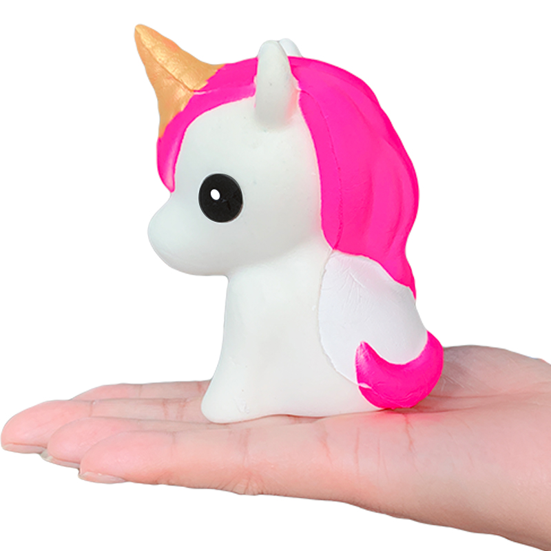 New Kawaii Squishy Unicorn Squeeze Toy Simulation Cartoon Slow Rising Bread Cake Scented Stress Relief Fun For Kid Xmas Gift Toy