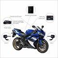 Vsys C3 HD NVR projeto para a segurança do motociclista da motocicleta do esporte recorde dianteiro e traseiro com câmera dupla