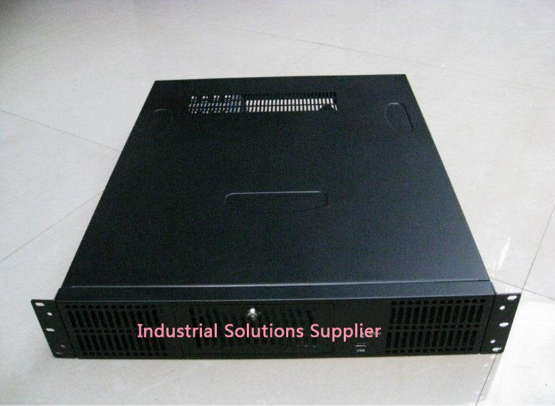 New Top 2U-530A Server Industrial Computer Case General Power Supply new ultra short 3u computer case 38cm 8 hard drive pc large panel atx power supply 3u server industrial computer case