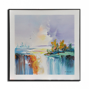 Original oil painting seascape hand-painted Home decoration painting famous  high quality Modern artists painting 18011809
