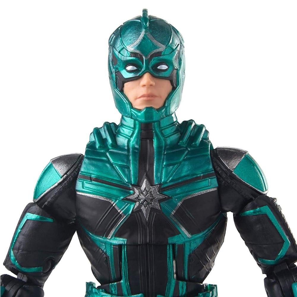 Marvel Captain Marvel 6 Inch Legends Nick Fury Yon Rogg Kree Talos