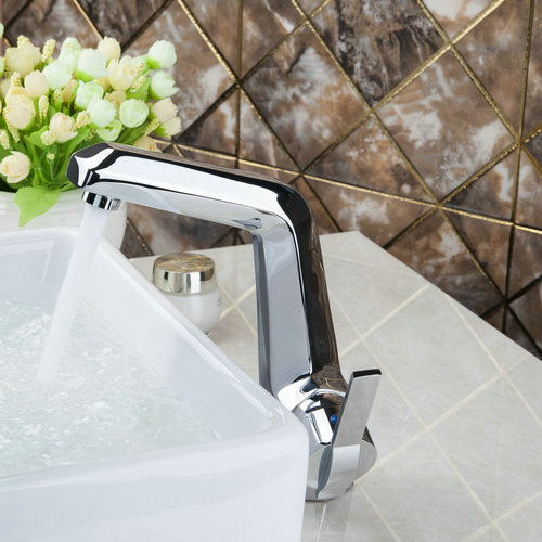 Good Quality Chrome Bathroom Brass Deck Mounted 92306 Basin Sink Grifos Cocina Faucets,Mixers &Taps
