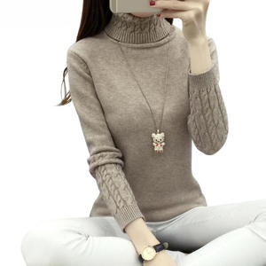 ALYBVGVHV Women Winter Sweaters And Pullovers Knit