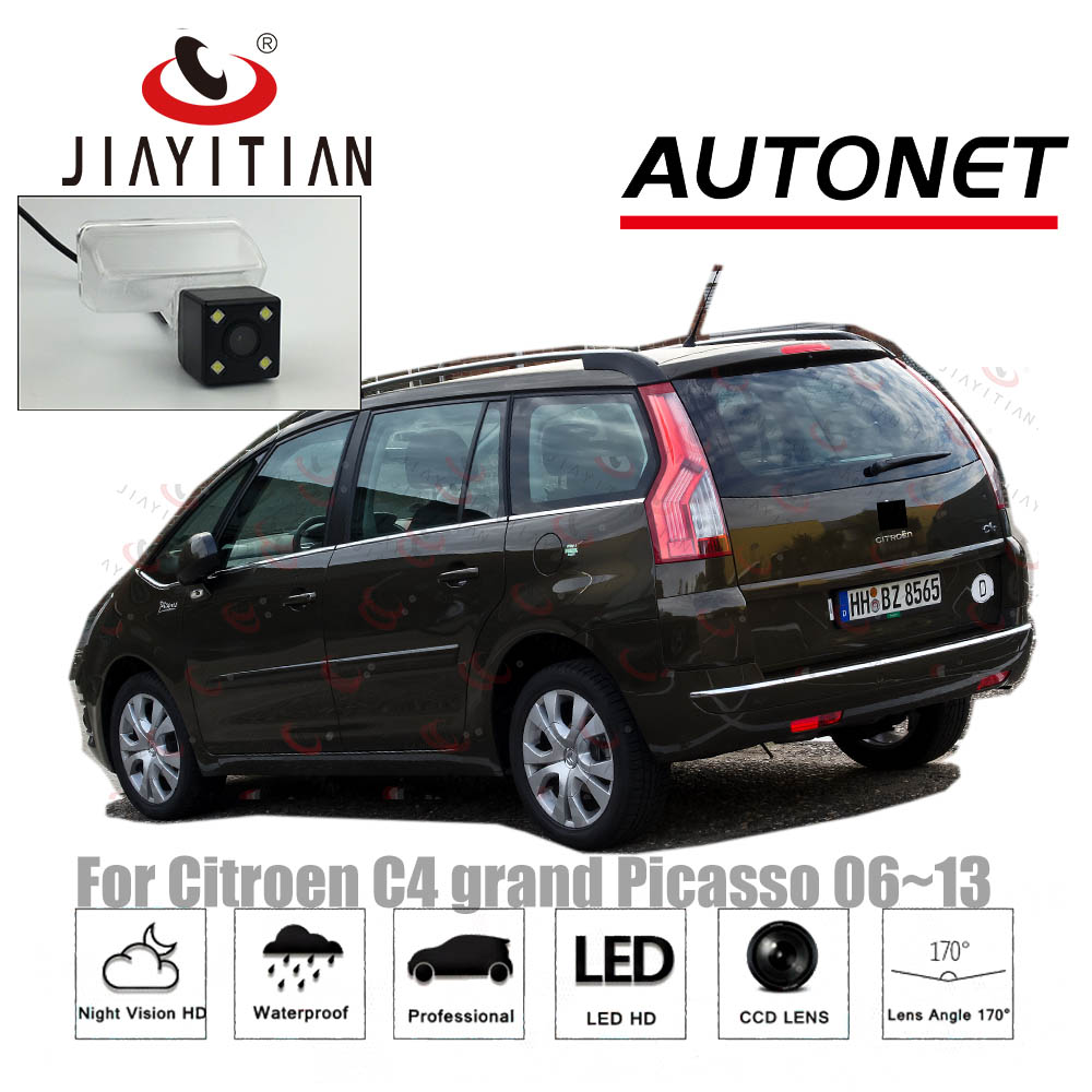 JIAYITIAN Rear Camera For Citroen C4 Picasso Grand 2006~2013 Mk1 CCD/Backup Parking Camera/Night Vision/License Plate Camera