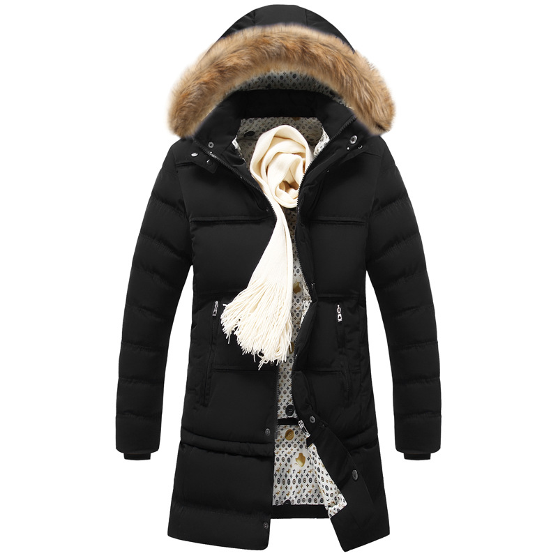 New Winter Cotton Jackets Men Warm High Quality Coats Male Casual Winter Outerwer