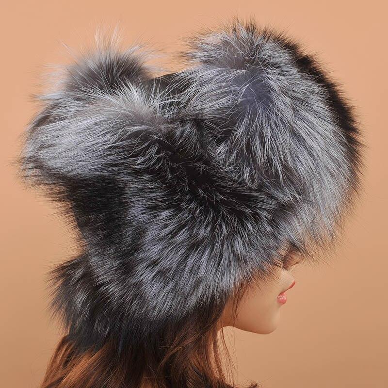 186972d3717 Women Has 2017 Beautiful Russian Hat Women Ladies Warm Rex Fox Fur Hat  Female Winter Hat Winter Hats For Men Fur Ushanka-in Skullies   Beanies  from Apparel ...