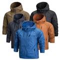 2016 Новых Мужчин Ветровка бренд-одежда мужчина мужские пальто varsity куртка Причинно Капюшоном человек водонепроницаемая куртка мужчины