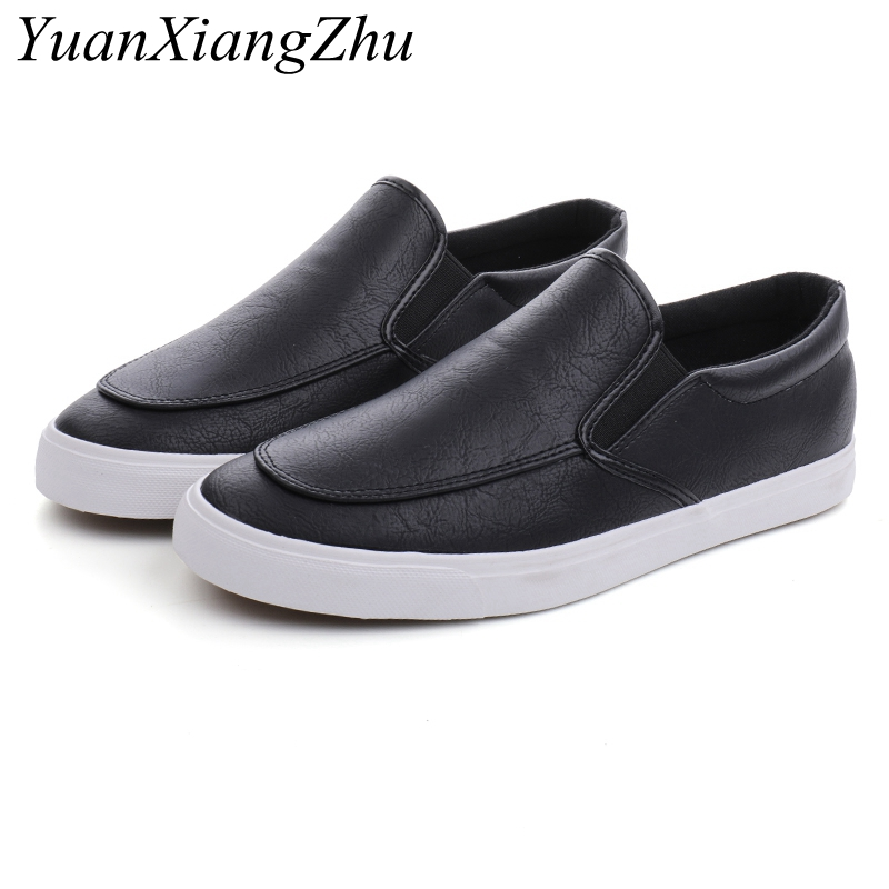 ▐Ultimate DealShoes Sneakers Men Loafers Comfortable White Mens Flats Slip On Black Casual Fashion