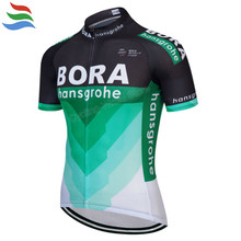 b6f7f911f Bora Hansgrohe Cycling Jersey 2018 Pro Team Good Quality Cycling Clothing  Men Quick Dry Roupa Ciclismo