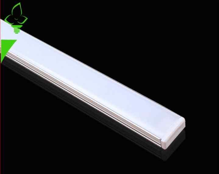 20 шт./лот 50 см 5730 жесткая лента свет бар Кухня светодиодные панели 36LED 12 В LED Жесткий полосы белый 4500 К 6000 К с U falt крышка