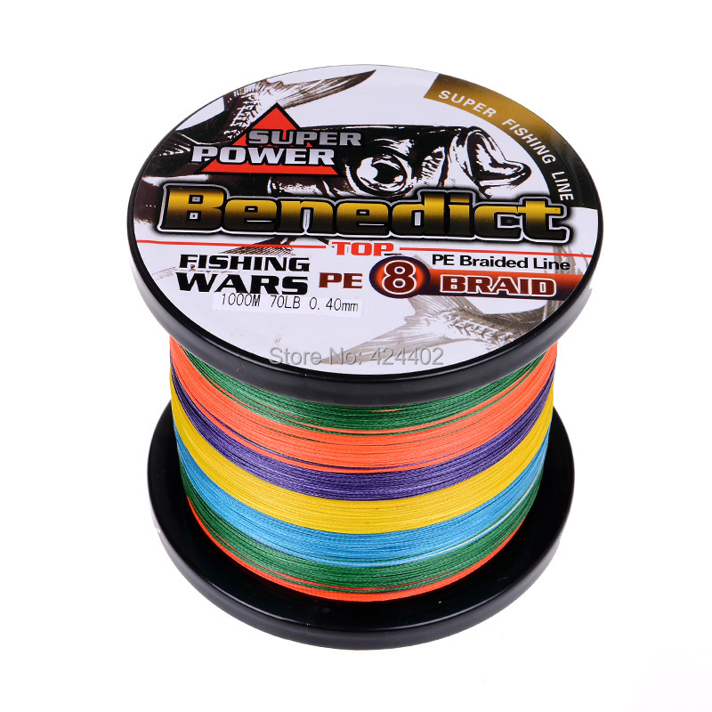 1000m feihong brand super strong japan multifilament pe for Fishing line brands