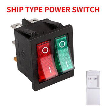 Double Boat Rocker Switch Boat Gad Get Rocker Switch Durable Toggle Switche Lights Spare Parts Switches ABS DIY Spst Switch Top