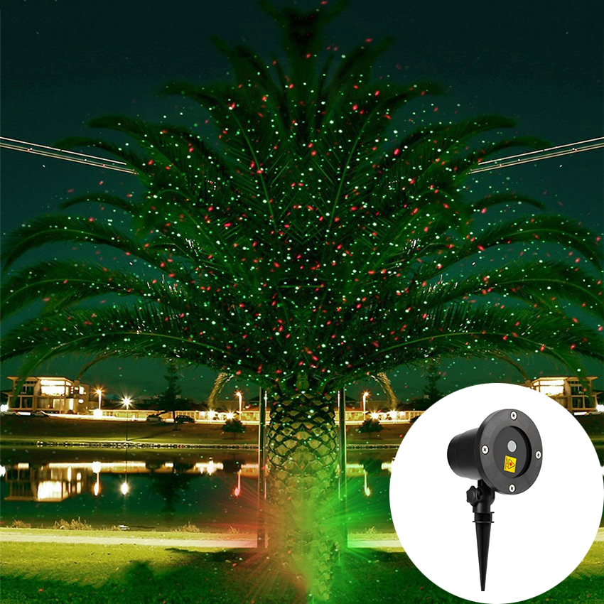 Outdoor Red Green Sky Star Laser Projector lamp Christmas Starry Sky Laser Light Garden Landscape Shower Party Disco Stage Light christmas waterproof laser lighting landscape sky star green red laser effect projector stage light for outdoor garden lamp