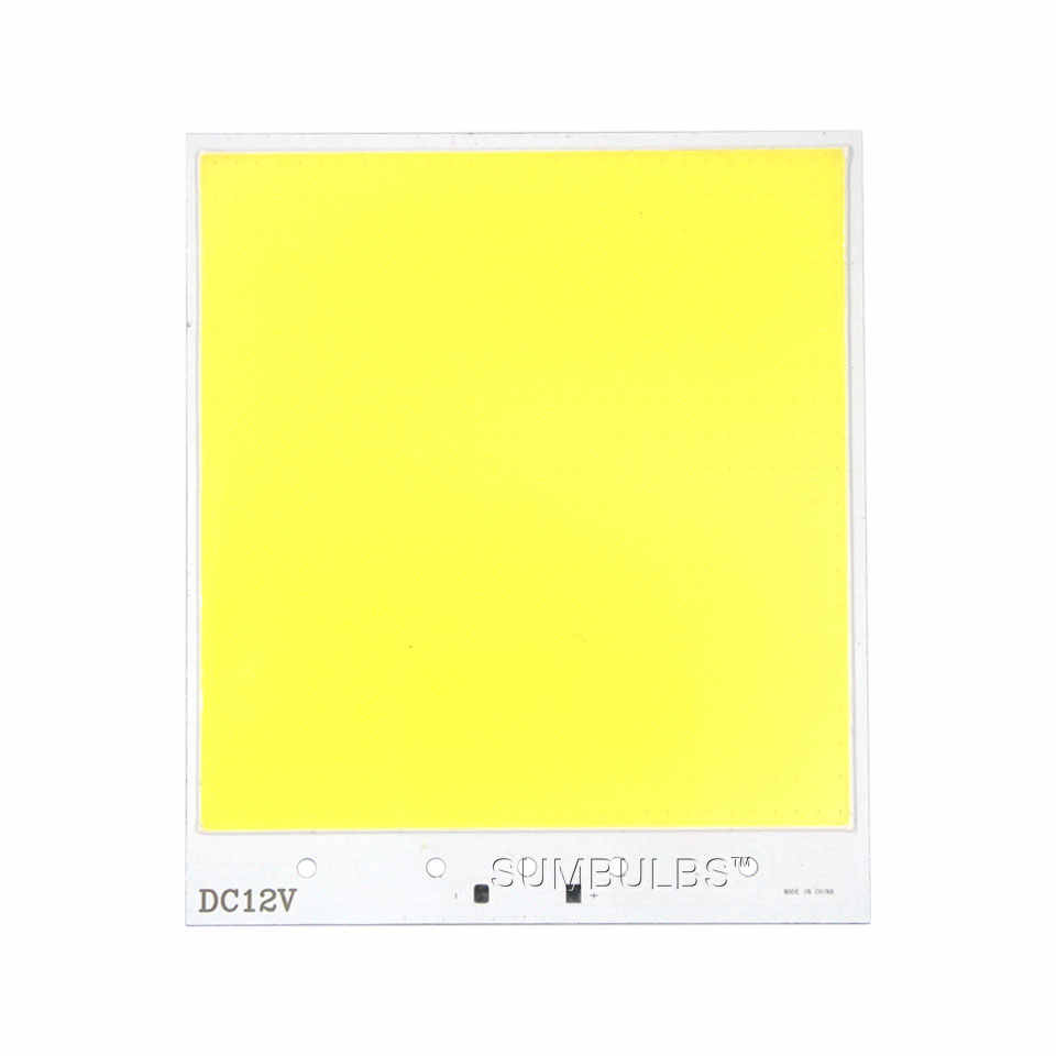 Super Bright COB tablica led lampa żarówka układ dwustronny 300W matryca led źródło światła 6500K fajne białe DIY zewnętrzne oświetlenie wewnętrzne
