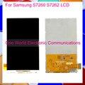 Nuevo monitor de prueba para samsung galaxy star pro s7260 s7262 pantalla lcd reemplazo de la exhibición del teléfono el código de seguimiento + envío gratuito