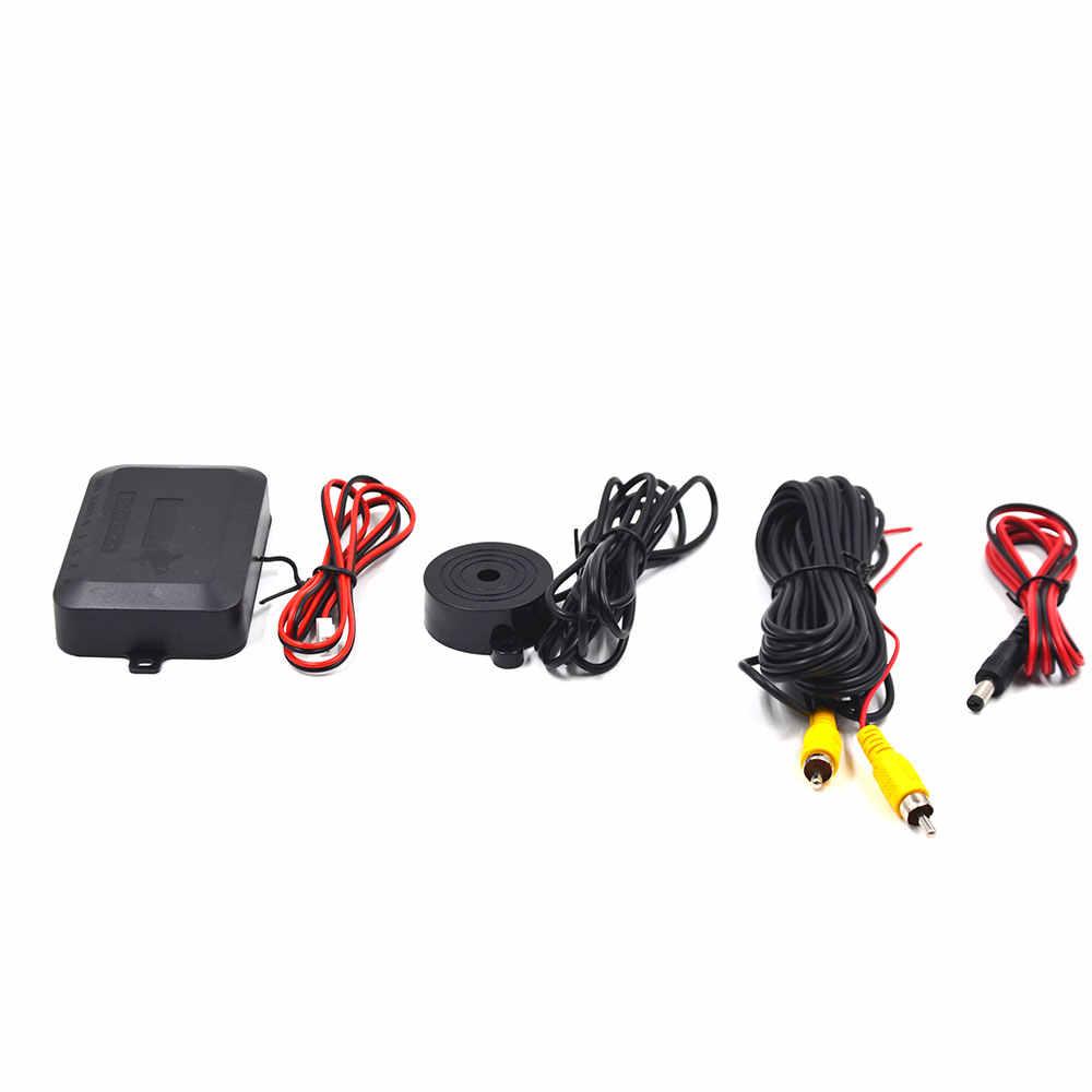 BYNCG 3в1 ЕС Европа Автомобильный Номерной Знак Рамка камера заднего вида 170 градусов ночного видения с 2 визуальный реверсивный радар-детектор