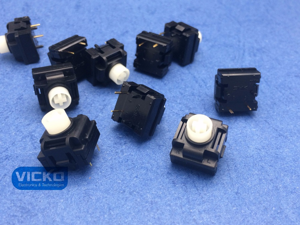 [VK] JAPAN SMK original New genuine imported  keyboard switch button touch 2 foot reset switch-in Switches from Lights & Lighting    1