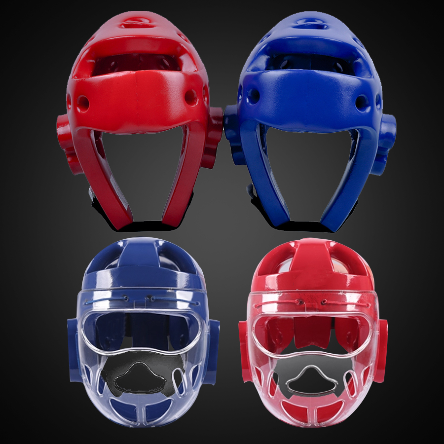 Taekwondo Helmet Boxing Headgear Karate Dobok Kickboxing Sanda Head Guard Protection ITF WTF Training Protector  цены