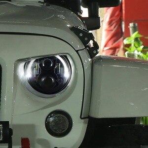 Image 4 - Marloo Dot Emarked (Links/Rechts Drive) 7 Inch Ronde Led Koplamp Hoge Dimlicht Voor Jeep Wrangler Jk Tj Lj Cj Hummber H1 H2