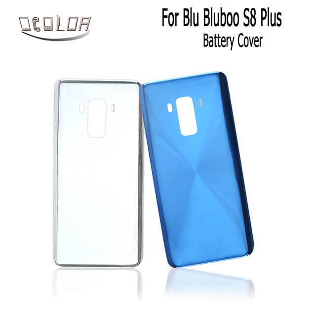 sale retailer 13a3d 41edd US $11.71 |ocolor For Blu Bluboo S8 Plus Battery Cover Durable Protective  Back Cover Case Replacement For Blu Bluboo S8 Plus Mobile Phone-in Fitted  ...