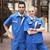 CONJUNTO DE CASACO + CALÇA casaco desgaste do trabalho Anti-estática estação de gás sinopec casaco desgaste do trabalho anti-estática conjunto mecânico-uniforme de manga curta