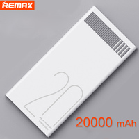 Remax Power Bank Fast Charge Output 2.4A Dual Usb Powerbank 20000mah Portable External Battery Pack For Tablet Phone Poverbank
