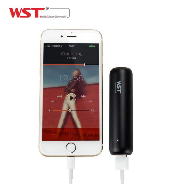 WST Original Mini Power Bank 3350mAh Portable External Battery Pack for  Mobile Phone Battery Charger Small Pocket Size Travel