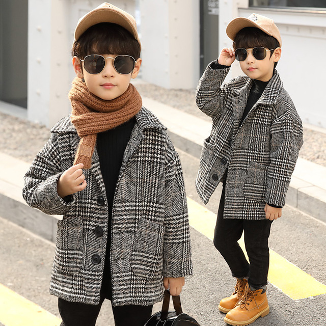 2ec827c5185 Boy Trench Coat Fall Fashion Trends 2018 Autumn Baby Boy Overcoat Korean  Style Teenage Clothing 3-13 Y Kids Trench Coat Garcon