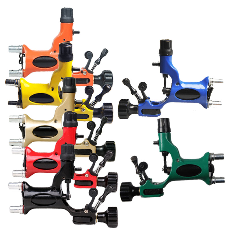 Rotary tattoo machine gun 7 colors available for tattoo for Tattoo equipment suppliers