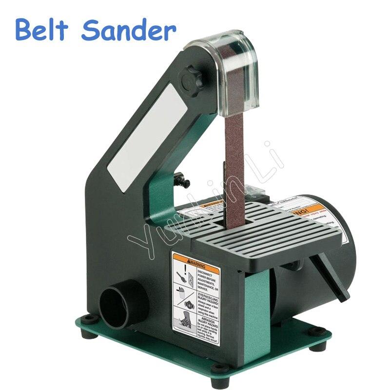 Belt Sander Metal Grinding/Polisher Sanding Machine for Woodworking 350W Copper Motor Knife Grinder Chamfering Machine