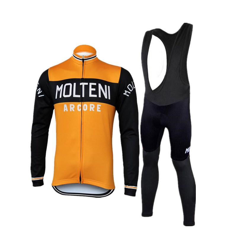 2018 autumn molteni cycling set long sleeve men cycling jerseys team thin retro cycling clothing road bike clothes sets fandeluxe Choice Image