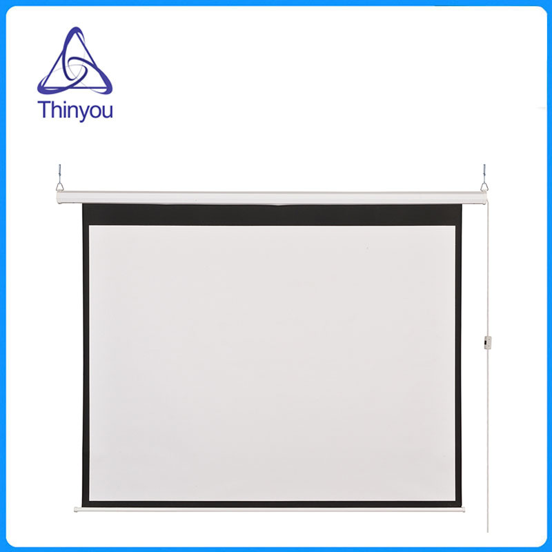 Thinyou 100 inch 16 9 electric screen wireless and wired for 100 inch motorized projector screen