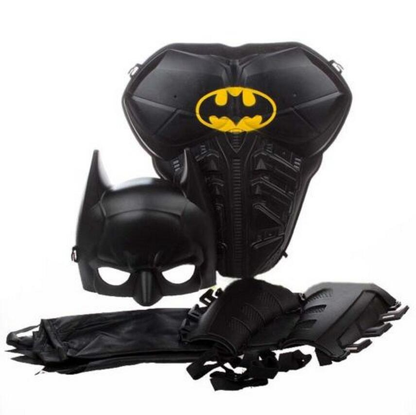 Children Kids Boy Batman Armor Mask Cloak Stage Shown Props Hallowmas Costume