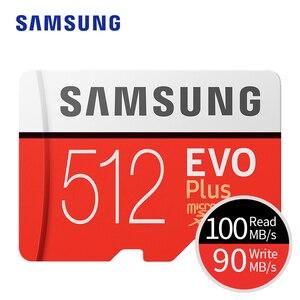 Image 2 - Thẻ Nhớ Samsung Micro SD Evo Plus 512GB SDHC SDXC Cấp Class10 C10 UHS 1 Thẻ TF Trans Flash 4K Nhớ MicroSD