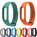 20pcs/lot For Xiaomi Mi Band 2 Version Replace Strap MiBand 2 Silicone Wristbands for Mi Band 2 Smart Bracelet 5 Color
