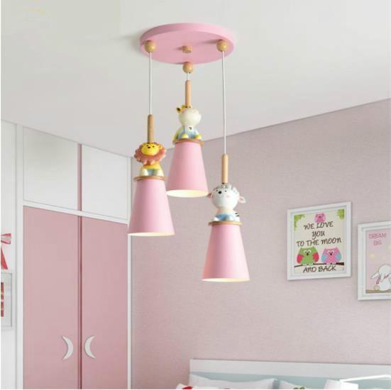 Nordic Bedroom Led Ceiling Lights Modern Children Room Ceiling Lamp Creative Girl Cartoon Cute Animal Child Lamp Home Lighting