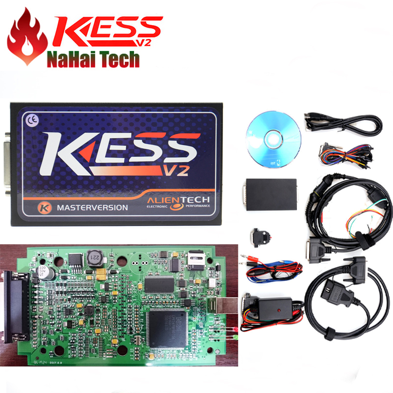 US $44 02 29% OFF|2018 KESS 5 017 Master No Token Limit KESS V2 5 017 ECU  Programmer For Cars&Truck Internet Safe 140 Protocol Diagnostic Scanner on