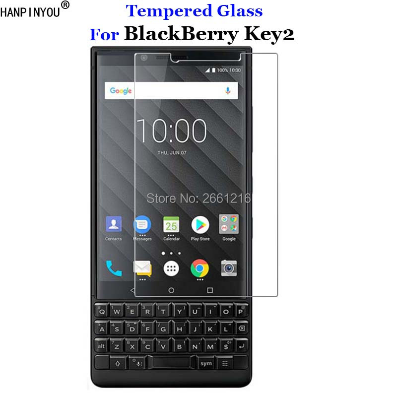 "For BlackBerry Key2 Tempered Glass 9H 2.5D Premium Screen Protector Film For BlackBerry KEYtwo Key 2 Two Athena 4.5""(China)"