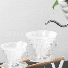 1-2/2-4cups V60 Coffee Dripper HARIO resin Cone Coffee Filter