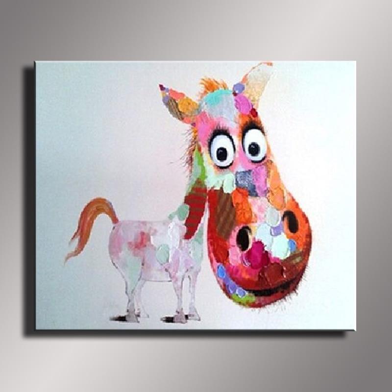 Cēzara eļļas glezna mūsdienu eļļas glezna uz audekla abstrakta - Mājas dekors - Foto 4