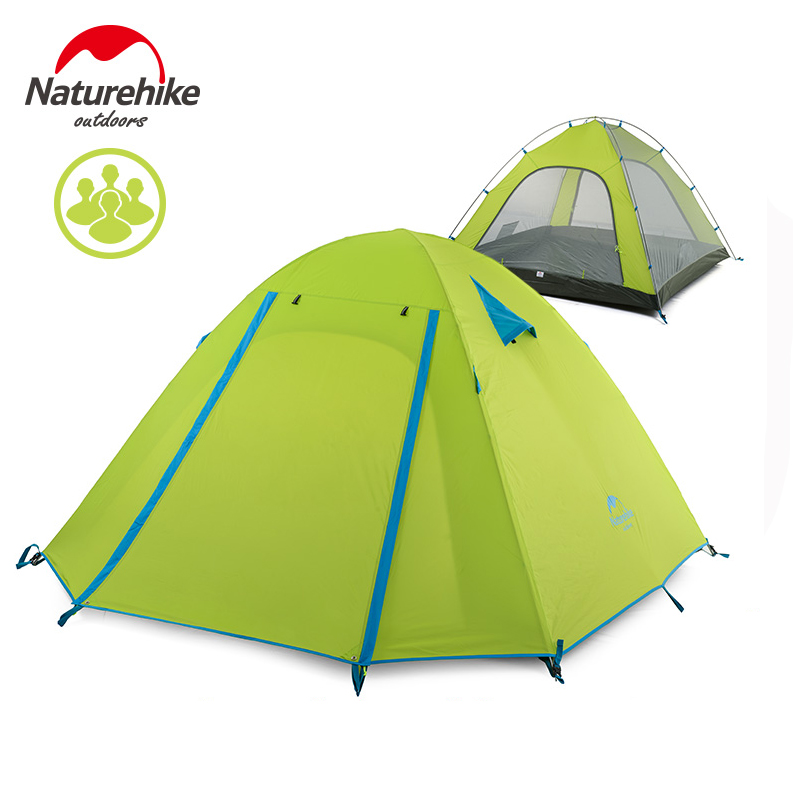NatureHike Large C&ing Tent 3 4 Person Ultralight Tents Outdoor Double Layer Waterproof Windproof 3 Seasons Hiking-in Tents from Sports u0026 Entertainment on ...  sc 1 st  AliExpress.com & NatureHike Large Camping Tent 3 4 Person Ultralight Tents Outdoor ...