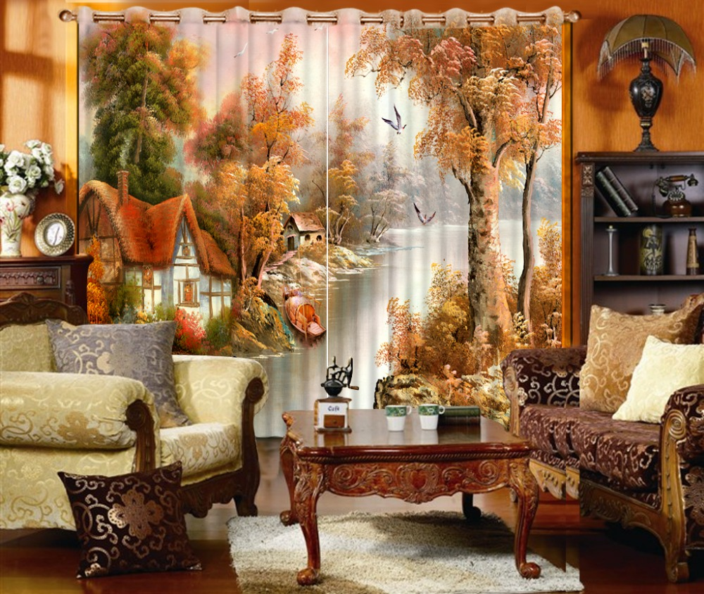 Living Room Country Curtains Online Get Cheap Country Curtain Aliexpresscom Alibaba Group