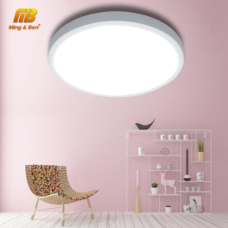 LED UFO פנל מנורת LED תקרת אורות 48W 36W 24W 18W 13W 9W 6W SMD2385 קל להתקין AC85-265V מודרני שינה חכם תקרת מנורה