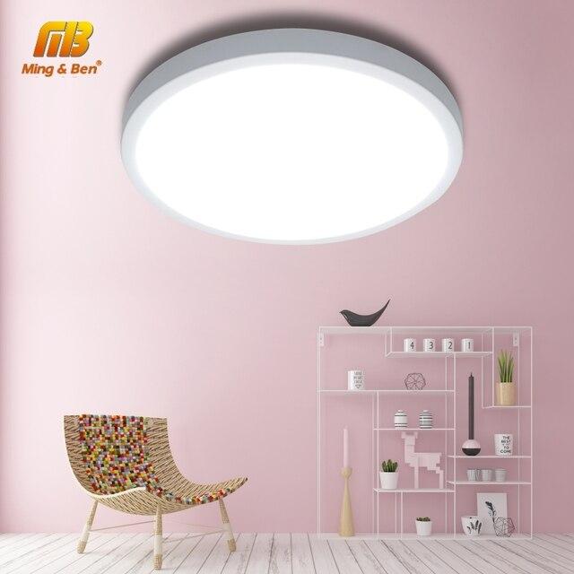 $ US $3.05 LED UFO Panel Lamp LED Ceiling Lights 48W 36W 24W 18W 13W 9W 6W SMD2385 Easy Install AC85-265V Modern Bedroom Smart Ceiling Lamp