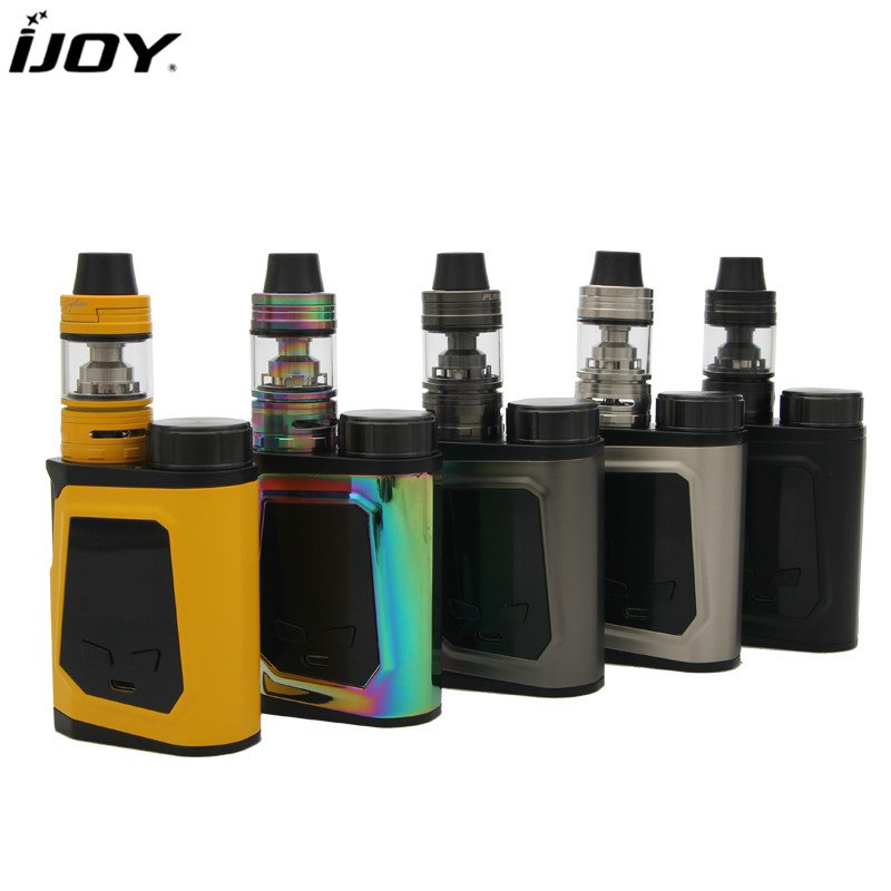 100% Original IJOY CAPO 100 Kit with 100W CAPO Mod and 3.2ml Captain Mini Tank suit 18650 20700 battery electronic cigarette kit original ijoy captain pd1865 tc vape kit rdta 5s tank 2 6ml atomizer captain pd1865 box mod 225w