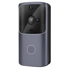 720P Wifi умный беспроводной дверной звонок ночного видения с приложением, умный визуальный домофон, запись удаленного домашнего мониторинга