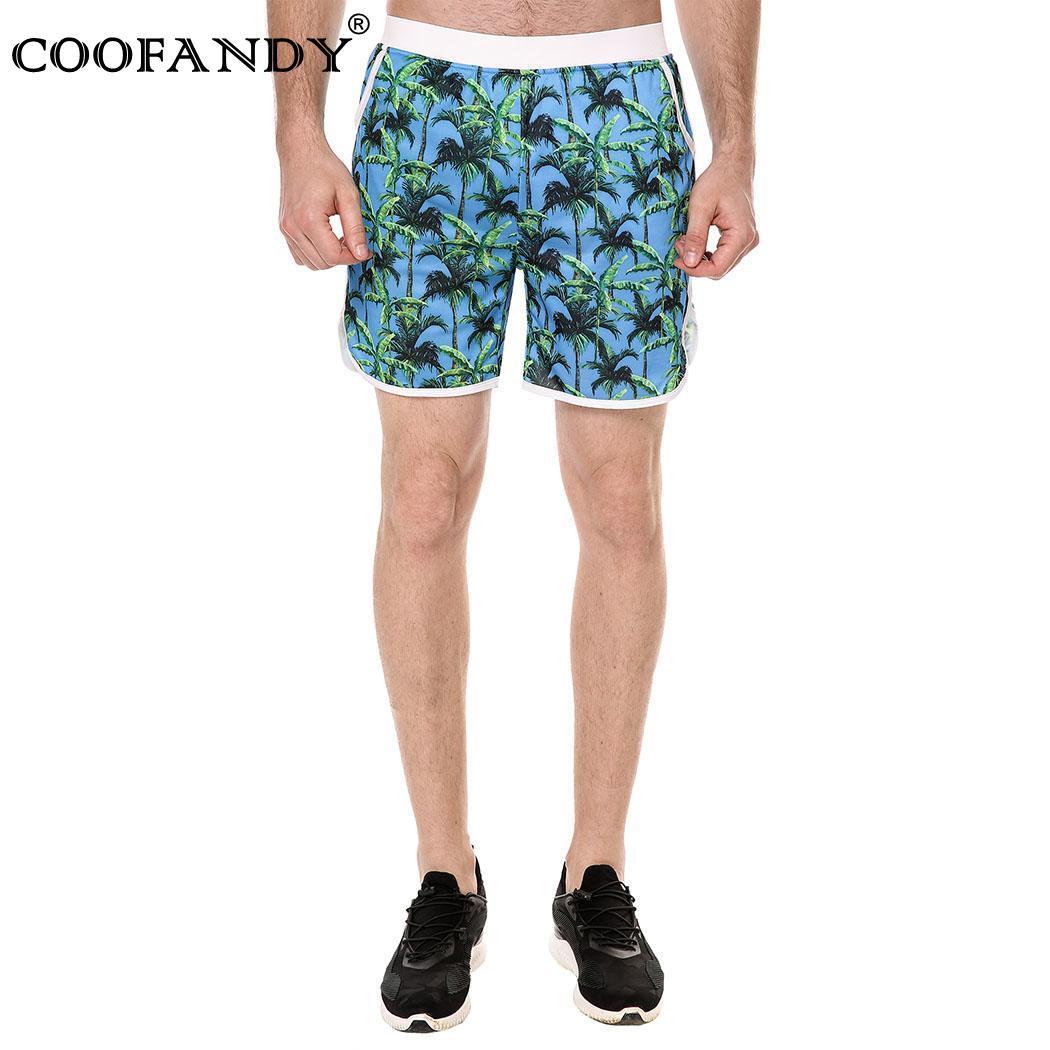 Середина талией Для мужчин Модная сетчатая подкладка Новый Повседневное Runnning Плавание пляжные шорты