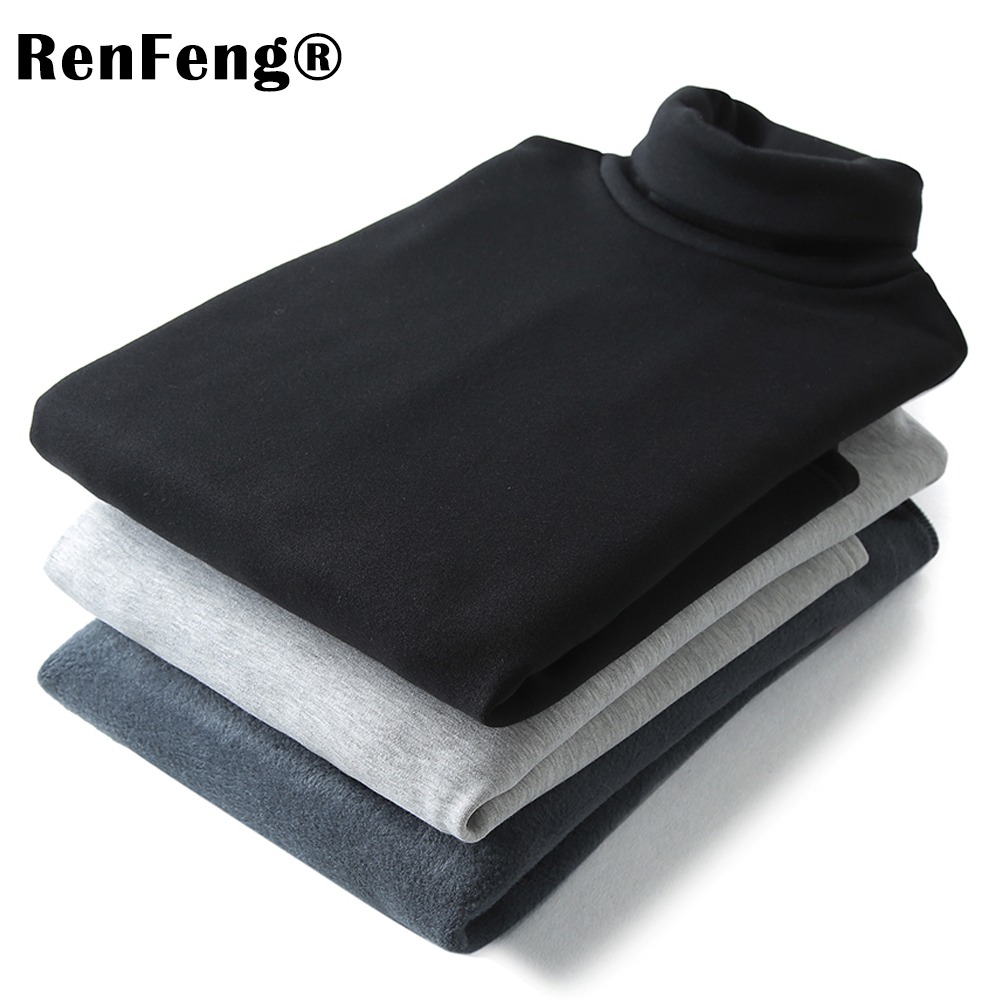 Under shirt England Style turtleneck mens Sweters gentleman winter Slim Pullover Warm sh ...