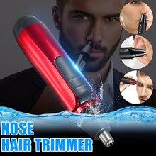 Электрический триммер для ушей в носу, уход за ушами, уход за лицом, аккуратная очистка, тример для индивидуального бритья, машинка для стрижки, бритва для мужчин, подарок